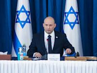 ראש הממשלה נפתלי בנט בישיבת קבינט קורונה / צילום: מארק ישראל סלם - הג'רוזלם פוסט