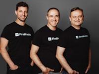 מייסדי פיירבלוקס: עידן עפרת, מיכאל שאולוב ופבל ברנגולץ / צילום: יוליה נר