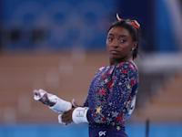 סימון ביילס באולימפיאדת טוקיו / צילום: Reuters, Kunihiko Miura