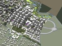 תוכנית סירקין מזרח / הדמיה: עמוס ברנדייס אדריכלות ותכנון עירוני ואזורי