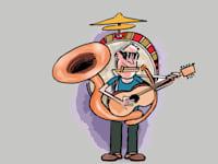 לנגן על כל הכלים / איור: גיל ג'יבלי