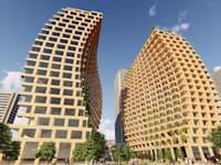 בתים מודולריים עשויים מעץ / צילום: טל פרידמן אדריכלות בשיתוף פולדסטראקט