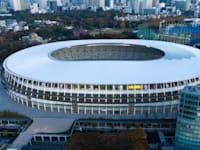 בניין האצטדיון הלאומי האולימפי, Kokuritsu, טוקיו / צילום: Shutterstock