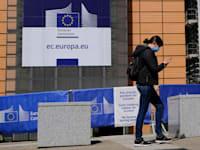 הנציבות האירופית בברלין.  הגבלות הקורונה מתחילות להשתחרר / צילום: Shutterstock