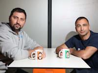 אדם קוגן ואדם קימה, מייסדי חברת הפינטק PayMe / צילום: עופר וקנין