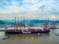 נמל נינגבו-זושאן בסין / צילום: Reuters, Oriental Image