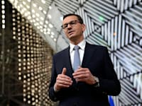 ראש ממשלת פולין מטאוש מורבייצקי / צילום: Associated Press, Francisco Seco, Pool