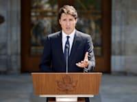 ראש ממשלת קנדה ג'סטין טרודו / צילום: Reuters