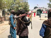 כוחות הטאליבאן בתוך קאבול / צילום: Reuters, Stringer