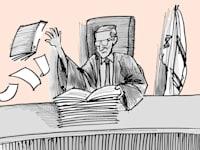 בית המשפט השאיר את הצדק לעשירים / איור: גיל ג'יבלי