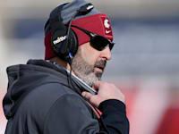 ניק רולוביץ', מאמן קבוצת הפוטבול וושינגטון סטייט קוגרס / צילום: Associated Press, Rick Bowmer, File