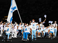המשלחת הישראלית למשחקים הפראלימפיים בטוקיו / צילום: Reuters, Athit Perawongmetha