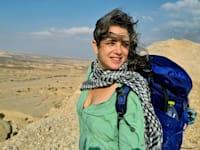 ענבל הרפז, בעלת ''יש אי שם'' - מסעות נשים במדבר / צילום: לירון ברייר דנציגר