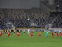 משחק בליגת העל ללא קהל, בשנה שעברה / צילום: Reuters, AMMAR AWAD
