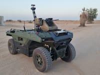 כלי רכב האוטונומי של תע''א OFF ROAD / צילום: תעשיה אוירית