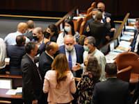 מליאת הכנסת לקראת ההצבעה על חוק ההסדרים / צילום: דני שם טוב, דוברות הכנסת