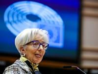 יו''רית הבנק המרכזי האירופי קריסטין לגארד / צילום: Associated Press, Olivier Matthys