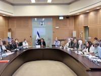 פתיחת דיוני חוק ההסדרים בוועדת הכספים / צילום: נועם מושקוביץ, דוברות הכנסת