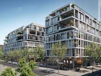 פרויקט בזל של בנייני העיר הלבנה וקרן JTLV / צילום: 3dvision
