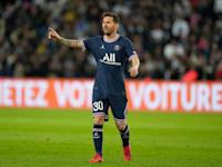 מסי במדי פריז סן ז'רמן. חלק מחבילת השכר של מסי בקבוצתו החדשה שולם במטבעות דיגיטליים / צילום: Associated Press, Francois Mori