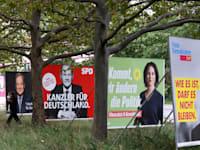 ראשי המפלגות המתמודדות בבחירות בגרמניה / צילום: Reuters, Fabrizio Bensch