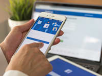 אפליקציית פייסבוק / צילום: Shutterstock, Chinnapong