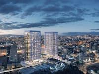 פרויקט ''מגדלי עתיד'' של קבוצת סופרין / הדמיה: 3dvision