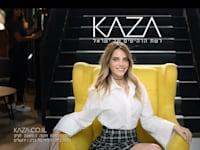 רותם סלע בפרסומת לרהיטי קאזה / צילום: צילום מסך