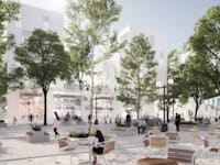 תוכנית הוותמ''ל בעיר עראבה / הדמיה: Rational Architects