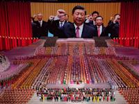 נשיא סין, שי ג'ינפינג, בחגיגות 100 שנה להקמת המפלגה הקומוניסטית הסינית, יוני / צילום: Associated Press, Ng Han Guan