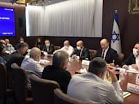 ראש הממשלה בדיון צוות השרים למאבק בפשיעה ובאלימות בחברה הערבית / צילום: קובי גדעון-לע''מ