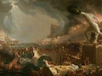 ''מסלולה של אימפריה: הרס'', תומאס קול, 1836