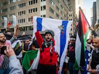 הפגנה נגד ישראל בניו יורק / צילום: Shutterstock