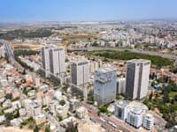 תוכנית התחדשות עירונית ל-610 יח''ד במרכז העיר רמלה / צילום: ערן מבל אדריכלים