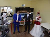 חניכת המעבדה בקזחסטן / צילום: חברת AID