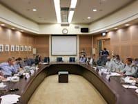 הדיון היום בוועדת החוץ והביטחון / צילום: דוברות הכנסת - נועם מושקוביץ