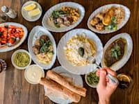 מטעמים במסעדה שולה / צילום: עפרת רענן