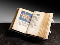 כתב היד היהודי העתיק ''מחזור לוצאטו'' שיימכר במכירה פומבית של בית המכירות ''סות'ביס'' / צילום: אתר Sotheby's