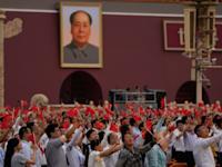 חגיגות 100 שנה לשלטון המפלגה הקומוניסטית, בייג'ינג, יולי 2021 / צילום: Associated Press, Ng Han Guan