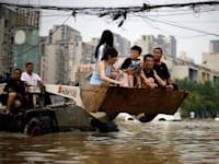 שטפונות ב-Zhengzhou ביולי / צילום: Reuters, אלי סונג
