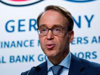נגיד הבנק המרכזי של גרמניה, יינס ויידמן / צילום: Associated Press, Jose Luis Magana