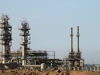 מתקן גז סמוך לקהיר / צילום: Reuters, Amr Abdallah Dalsh