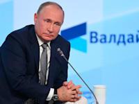 ולדימיר פוטין, נשיא רוסיה / צילום: Associated Press, Maksim Blinov, Sputnik, Kremlin Pool