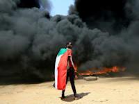 הפגנות נגד השתלטות הצבא בסודאן / צילום: Reuters, MOHAMED NURELDIN ABDALLAH