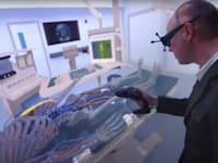 מידול תלת מימדי של אדם שוכב על מיטת חדר ניתוח / צילום: מתוך מצגת של Dassault Systèmes