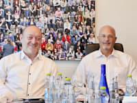 מימין: עו''ד גדעון פישר ורון חכם / צילום: משרד גדעון פישר ושות'