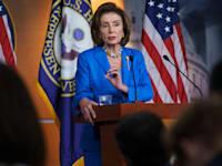 יושבת ראש בית הנבחרים ננסי פלוסי / צילום: Associated Press, J. Scott Applewhite