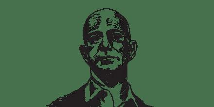 ג'ף בזוס / איור: גיל ג'יבלי