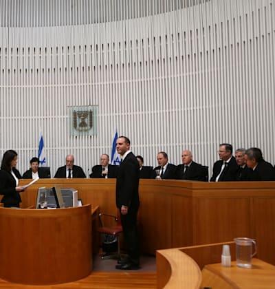 אולם של העליון. הנפגעות יוכלו לצפות בטלוויזיה במעגל סגור / צילום: אלכס קולומויסקי-ידיעות אחרונות