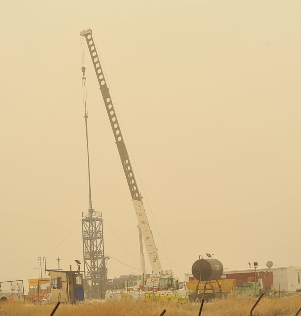 קידוח נפט גבעות עולם / צילום: תמר מצפי